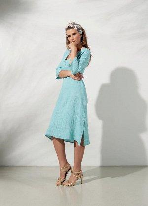 Итальянское льняное платье