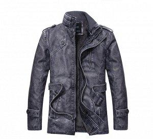 Куртка мужская утепленная, цвет Blue gray