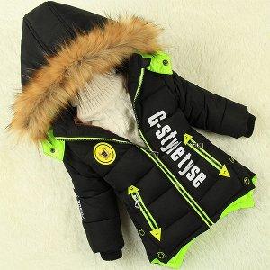 Теплая детская курточка рост 100-110 обмен на размер меньше или продам