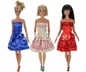 Платье с вышивкой (в ассортименте)