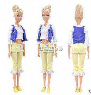 Комплект одежды (блузка + жилетка + бриджи + сумка + туфли)