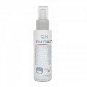 OLLIN FULL FORCE Спрей-тоник для стимуляции роста волос с экстрактом женьшеня 100мл