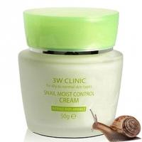 Антивозрастной увлажняющий крем с муцином улитки для сухой и нормальной кожи Snail Moist Control Cream