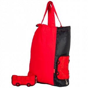 Сумка Материал Плащевка (Ю.Корея)Сумка серии Компакты, универсальная, складная, может также использоваться как мешок под обувь, складывается в компактный оригинальный чехол-автобус. Этот автобус стане