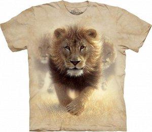 Качественная и очень красивая мужская футболка с принтом