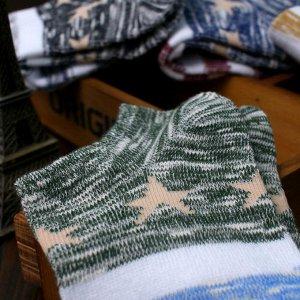 Звездные носочки стильные яркие