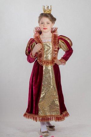 Королева бархат (платье,корона)