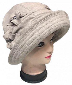 Шляпка замша