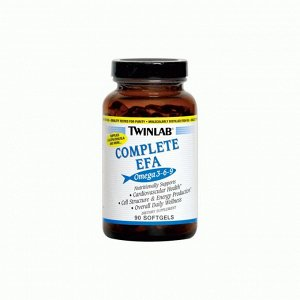 Omega-3-6-9 Complete Efa TWINLAB-90 капсул