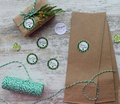 Пряничная фея. Огромный выбор вырубок для пряников — Стикеры (наклейки) для упаковки