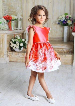 Очаровательное нарядное платье для маленьких принцесс.
