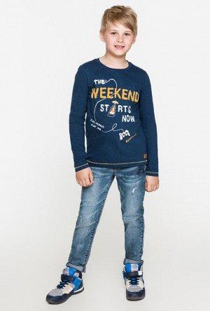 Брюки джинсовые детские для мальчиков Chicago синий