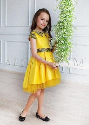 Красивое нарядное платье для маленьких принцесс
