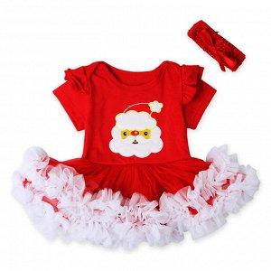 Новогоднее платье комбез