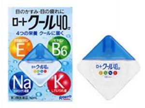 Капли для глаз EBNaK 40-голубые