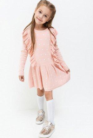 Красивущее, уютное и нарядное платье для девочки. На 122 см