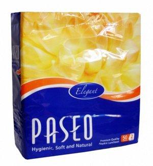Столовые салфетки PASEO ELEGANT LUNCHEON 2-x сл 50шт