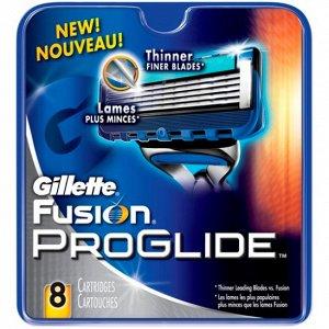 Gillette сменные кассеты Fusion ProGlide 8 шт