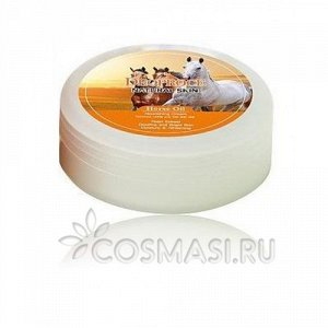 "KR/ DEOPROCE Natural Skin Horse Oil Nourishing cream Крем д/лица ""Лошадиное масло"", 100гр./ №2022"
