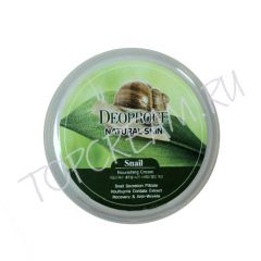 "KR/ DEOPROCE Natural Skin Snail Nourishing cream Крем д/лица ""Улитка"", 100гр./ №2023"
