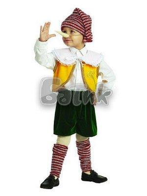 """Карнавальный костюм """"Буратино""""Зв. маскарад р.32 403-122-64"""