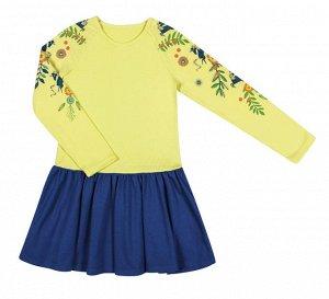 Мягенькое платье, идеально для детского сада