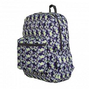 Рюкзак Городской рюкзак Polar из полиэстера прекрасно подойдет для повседневной носки. Основное отделение закрывается на молнию. Спереди размещён вместительный карман на молнии По бокам присутствуют о