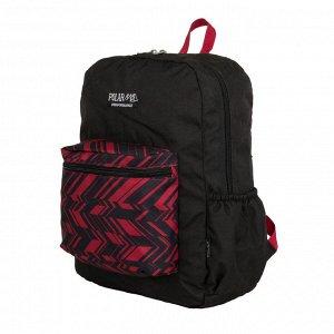 Рюкзак Вместительный городской рюкзак фирмы Polar имеет мягкую поролоновую спинку и мягкие лямки. Рюкзак имеет одно отделение, которое закрывается на молнию. Спереди объемный карман для небольших пред
