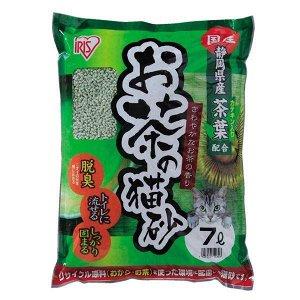 Наполнитель комкующийся из листьев зеленого чая и сои (смываемый)