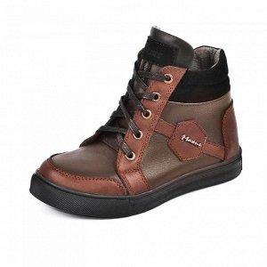 Зимние ботинки, для мальчика 32- 33 р.
