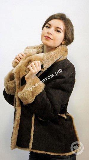 Куртка дублёнчатая из цельной овчины