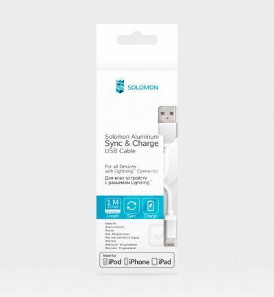 Solomon-Экспресс! Мобильная скорая помощь — USB-кабели Solomon  для IPhone — Аксессуары для электроники