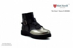 Обувь женская, натуральная кожа, внутри мех