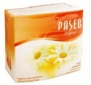 Столовые салфетки  PASEO ELEGANT COCKTAIL2-x сл 50шт/уп,
