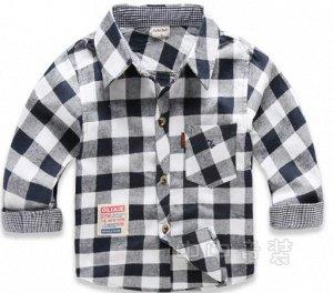 Продам стильную рубашку на мальчика,рост 110.