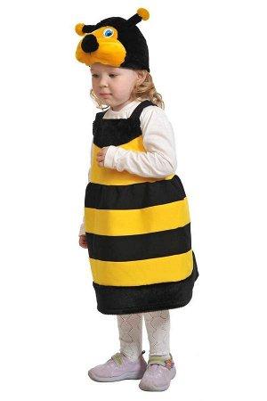 Пчелка ткань-плюш