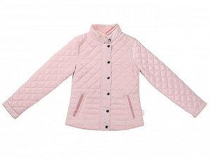 Куртка роз стёганная для девочек рост 152-158 фото замеры!!!