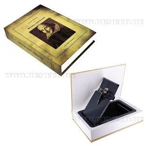 "Шкатулка-книга с замком ""Ромео и Джульетта"", L15,5 W4 H21,5см"