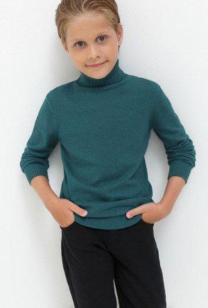 Свитер детский для мальчиков Kalina темно-зеленый
