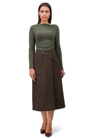 Тёплая юбка на осень