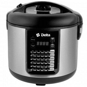 Мультиварка  DELTA DL-6516 чёрная (6) 900 Вт, 5л, 30 программ (РОССИЯ)