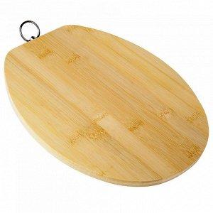 РД-00039 Доска разделочная  из бамбука (12) 24*20*1