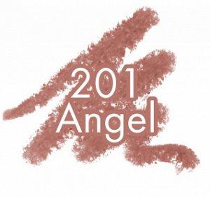 .Lux  карандаш  для губ PIN UP  matt   NEW!! 201 angel