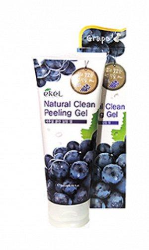 EKEL Natural Clean Peeling Gel(Grape) Пилинг с экстрактом винограда 180ml