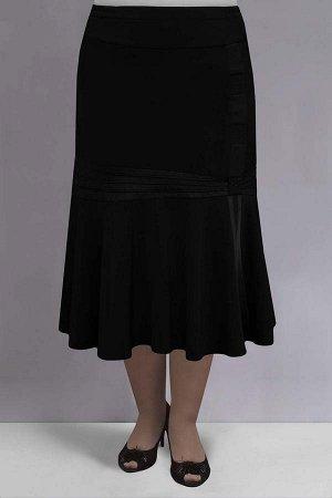 Юбка Модель:юбка текстильная расклешеного силуэта. Декор: декоративные вставки из атласа и отделка стразами . Особенности конструкции: прямой пояс с резинкой вшитой по бокам ,подкладка,застежка молни