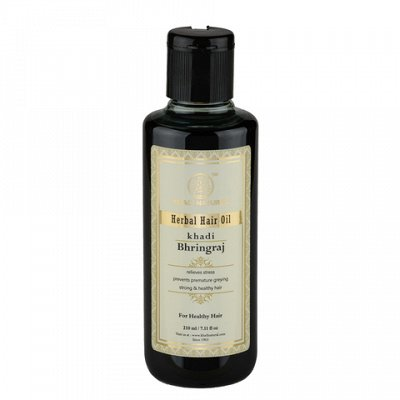 Косметика и краски для волос из Индии.  Бады!      — Khadi Naturals Массажное масло для волос и тела — Для волос