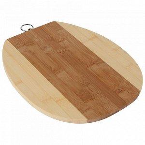 РД-00016 Доска разделочная  из бамбука (12) 29*24*1
