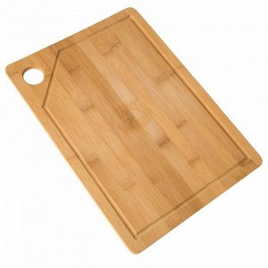 РД-00048 Доска разделочная  из бамбука ( 36*26*1) (12)