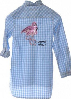 Шикарная рубашка тонкая, х/б