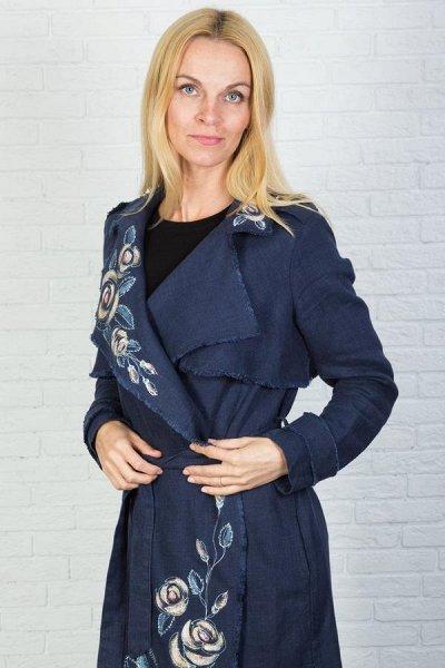 Полинушка — дизайнерская одежда из Беларуси — Летние пальто и полупальто — лён